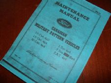 Ford.CMP Vehicles.Maintenance manual. MB-F1. June 1943